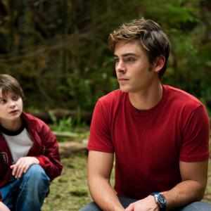 Still of Zac Efron and Charlie Tahan in Charlie St Cloud 2010