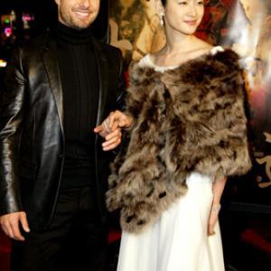Tom Cruise and Koyuki at event of The Last Samurai 2003