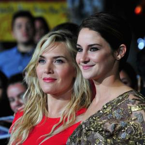 Kate Winslet and Shailene Woodley at event of Divergente 2014