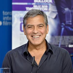 George Clooney at event of Our Brand Is Crisis (2015)
