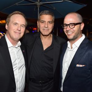 George Clooney, Brad Bird and Damon Lindelof at event of Rytojaus zeme (2015)