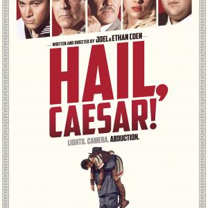 George Clooney, Josh Brolin, Scarlett Johansson, Channing Tatum and Jonah Hill in Slove Cezariui! (2016)