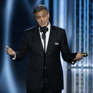 George Clooney at event of 72nd Golden Globe Awards (2015)