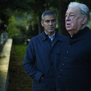 Still of George Clooney and Paolo Bonacelli in The American 2010