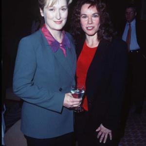 Meryl Streep and Barbara Hershey