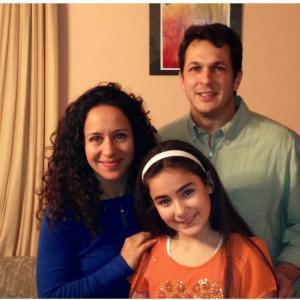 Desiree with David Cole and Met Salih  on set of Census Taker