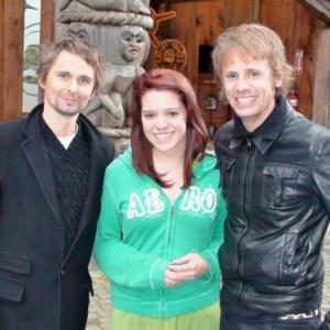 Me & the boys of Muse