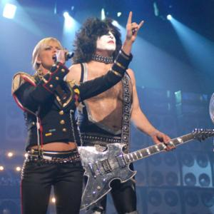 Jaime Pressly and Paul Stanley at event of VH1 Rock Honors 2006