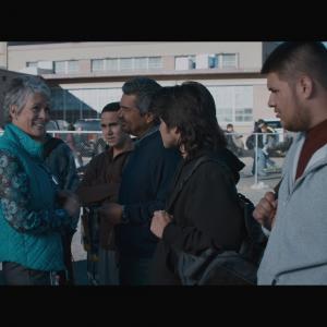 Still of Jamie Lee Curtis George Lopez Jos Julin Carlos PenaVega David Del Rio and Oscar Javier Gutierrez II in Spare Parts 2015