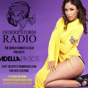 DJ CLUE - Desert Storm Radio Feature - Adella Pasos