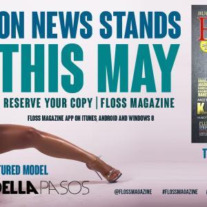 Floss Magazine - Featured Model May 2014 - Adella Pasos