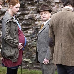 Still of Toby Jones Matt Smith Karen Gillan and Arthur Darvill in Doctor Who 2005