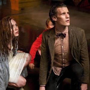 Still of Matt Smith and Karen Gillan in Doctor Who 2005