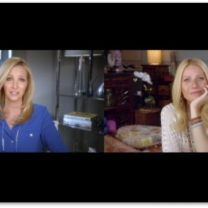Gwyneth Paltrow and Lisa Kudrow in Web Therapy (2011)