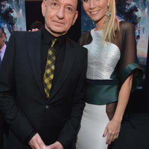 Gwyneth Paltrow and Ben Kingsley at event of Gelezinis zmogus 3 (2013)