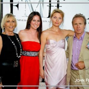 Janice Mussara, Melissa Davis, Annica Bejhed McCrudden, and Ian McCrudden. Fort Myers International Film Fest