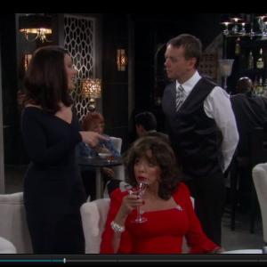 Henry Hereford Fran Drescher and Joan Collins
