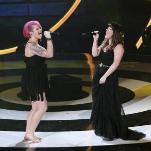 Kelly Clarkson, Robin Thicke, John Legend, Jennifer Nettles and Jordan Meredith in Duets (2012)