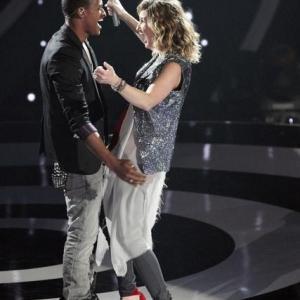 Still of Kelly Clarkson, Robin Thicke, John Legend and Jennifer Nettles in Duets (2012)