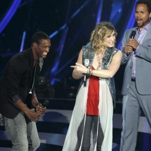 Still of Quddus, Kelly Clarkson, Robin Thicke, John Legend and Jennifer Nettles in Duets (2012)