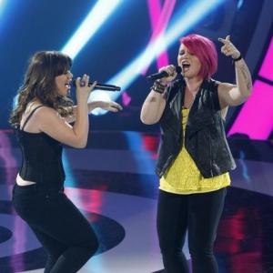 Still of Kelly Clarkson, Robin Thicke, John Legend, Jennifer Nettles and Jordan Meredith in Duets (2012)
