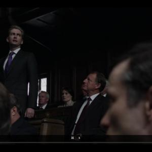 Screen shot from The Politicians Husband with David Tennant