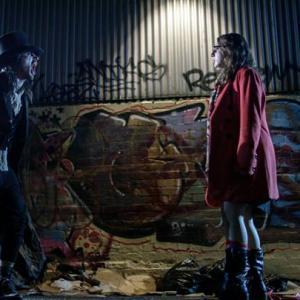 Tristan Mckinnon as ALfred J Hemlock in horror flick The Alleyway Directed by Edward Lyons