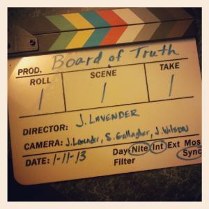 Board of Truth by Joseph Lavender