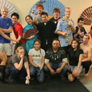 Kung Food Fight Cast & TEAM!