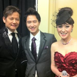 Hosting at Las Vegas with Asian Celebrities