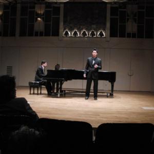 Opera/Singing Recital-Dress Rehearsal