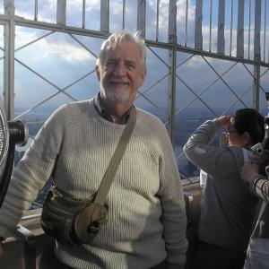 On top of the world or at least the Empire StateBuilding after the launch of my novel in New York!