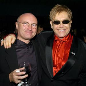 Phil Collins and Elton John