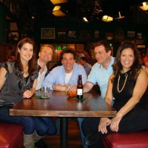 On the Set of How I Met Your Mother