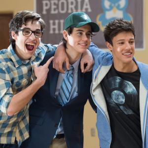 Joey Bragg, Nash Grier, Cameron Dallas
