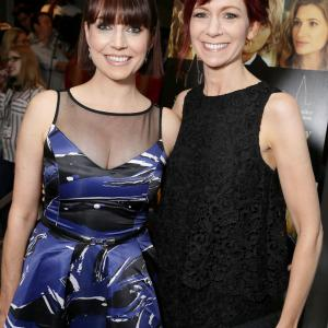 Ann Emery, Carrie Preston and Julie Ann at event of She's Funny That Way (2014)