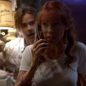 Still of Carrie Preston and Sam Trammell in Tikras kraujas (2008)