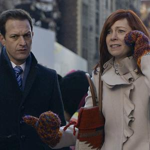 Still of Josh Charles and Carrie Preston in The Good Wife (2009)