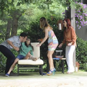 Still of Mark Feuerstein, Carrie Preston and Brooke D'Orsay in Royal Pains (2009)