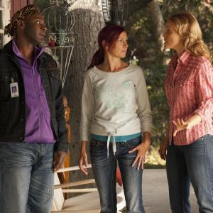 Still of Lauren Bowles, Carrie Preston and Nelsan Ellis in Tikras kraujas (2008)