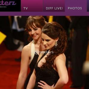 Mission Impossible 4 Red Carpet Premiere 2011 - Laura Quirke & Victoria Borasio
