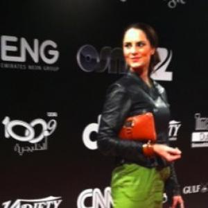 Laura Quirke at Terraferma Premiere 2011