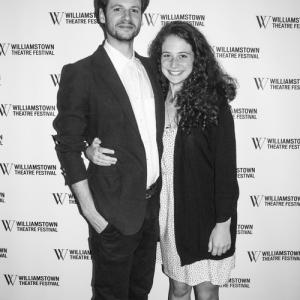 With actressplaywright Kati Schwartz at WTFs Opening Gala June of 2014