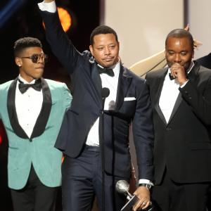 Terrence Howard, Lee Daniels, Bryshere Y. Gray