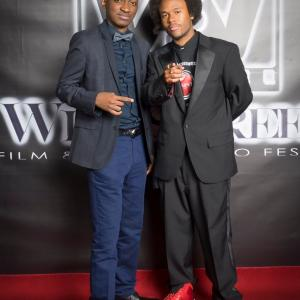 At the Widescreen Film  Music Festival With The CreatorFounder Jarrod
