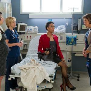 Edie Falco Eve Best and Anna Deavere Smith in Nurse Jackie 2009