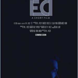 Official movie poster for ED starring Roberto Cordero Jr directed by Tom McCoy