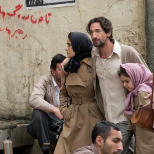 Still of Salma Hayek and Adrien Brody in Septembers of Shiraz (2015)