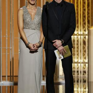Kate Beckinsale and Adrien Brody at event of 72nd Golden Globe Awards (2015)
