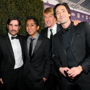 Adrien Brody, Jason Schwartzman, Owen Wilson and Tony Revolori